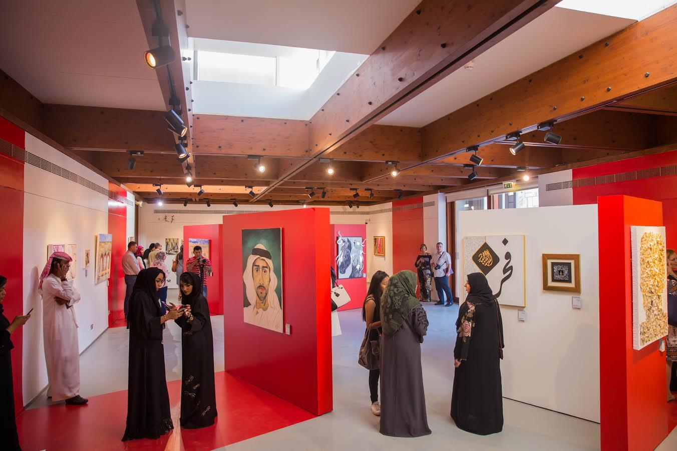 معرض كولاج يفتتح ابوابه في مركز القطارة للفنون