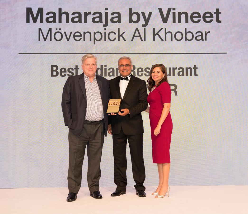 مطعم مهراجا ڤنيت يحوز على لقب أفضل مطعم هندي