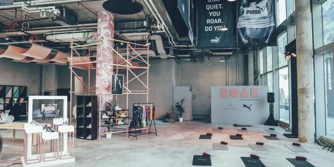 بوما الشرق الأوسط تطلق مركزها الأول والفريد من نوعه ROAR في دبي