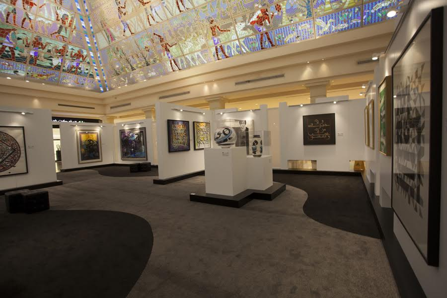 دبي تستضيف النسخة التاسعة من معرض دبي الدولي للخط العربي