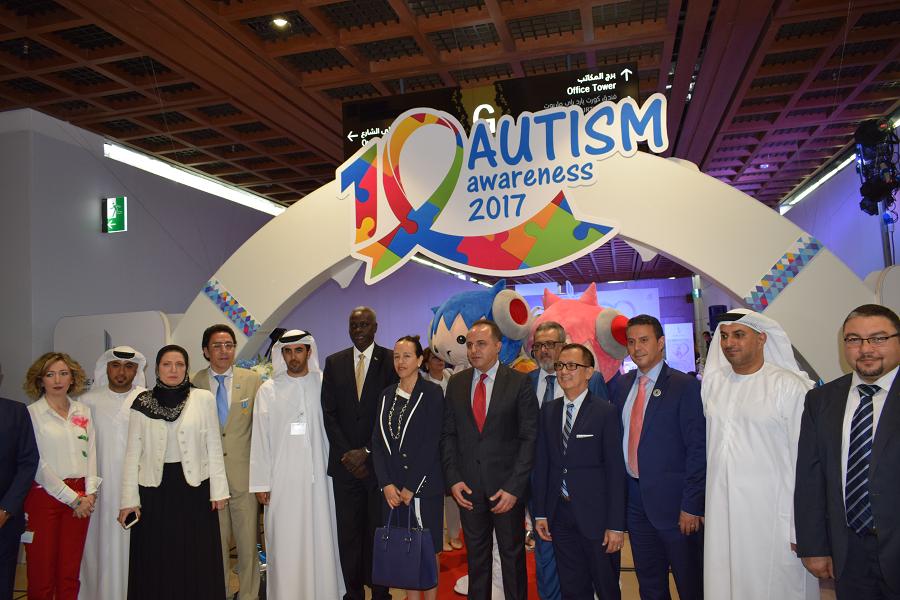 المركز التجاري العالمي أبوظبي يستضيف فعاليات أسبوع التوحد العاشر 2017