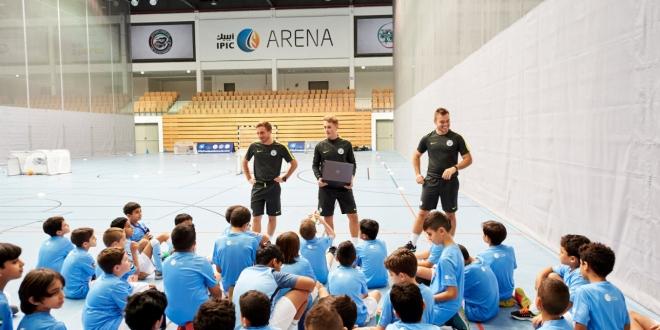 مدارس السيتي لكرة القدم تنظم مخيمها الصيفي