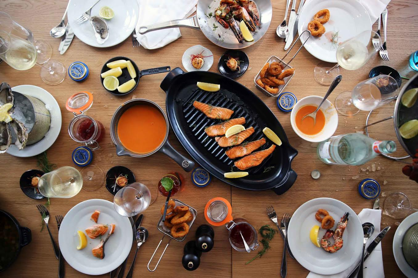 مطعم فيست دبي يقدم أشهى المأكولات البحرية كل يوم خميس