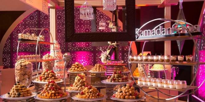 عروض رمضان في قاعة كونستلايشن بفندق العنوان مرسى دبي