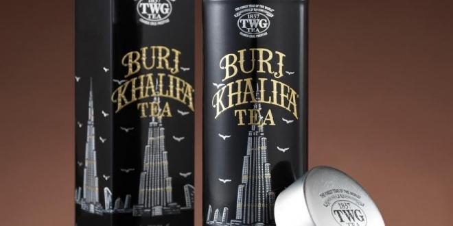 TWG Tea تكشف عن شاي برج خليفة