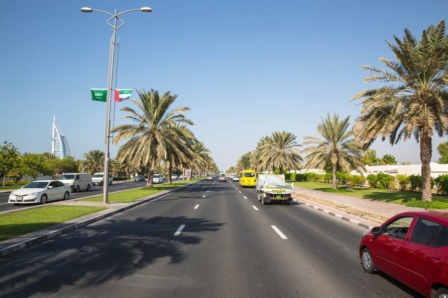 أفضل الشوارع الحيوية في دبي