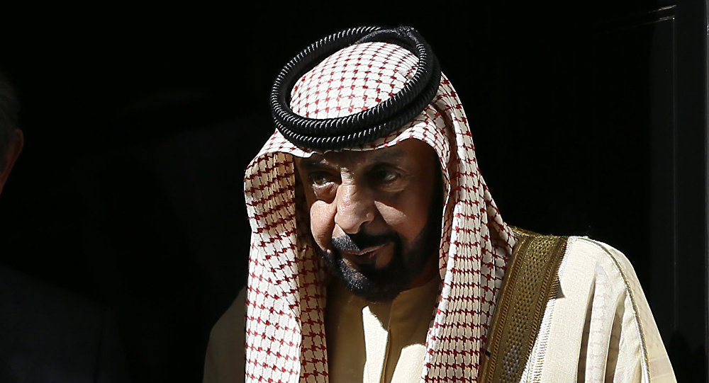 Photo of بالفيديو ظهور غير متوقع للشيخ خليفة بن زايد آل نهيان خلال عيد الفطر