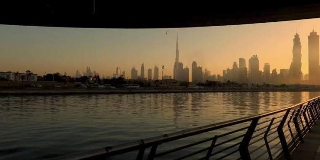 بالفيديو .. كيف تم بناء قناة دبي المائية ؟