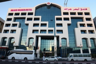 نظرة على فندق أبجد جراند في دبي