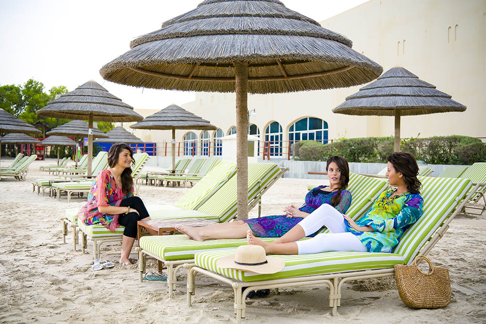 صورة شواطئ للنساء فقط في دبي