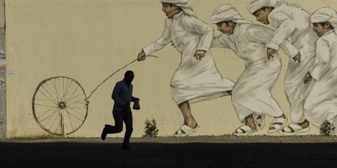 بالصور | نظرة على الثقافة الإمارتية عبر فن الشوارع في الإمارات