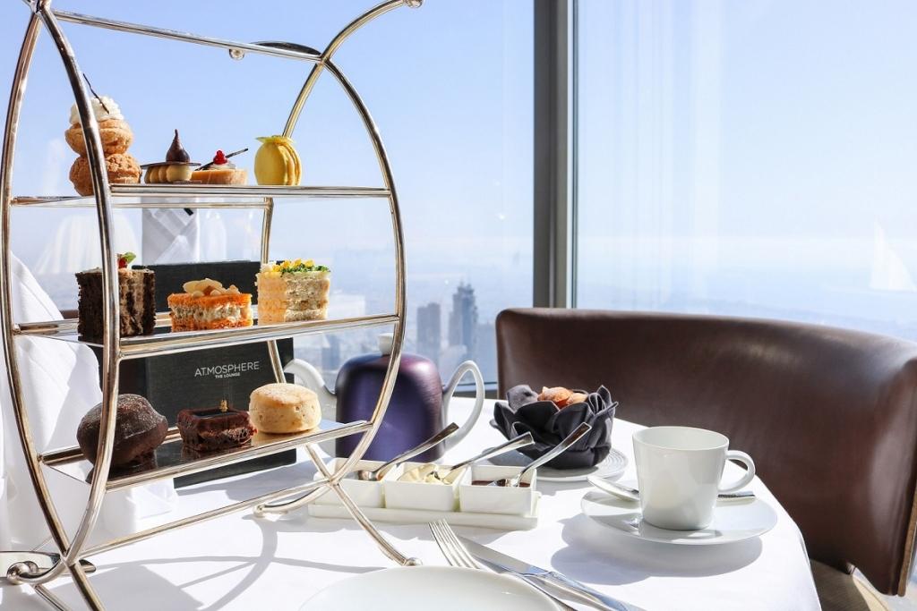 High Tea at At.mosphere Lounge, Burj Khalifa (2)