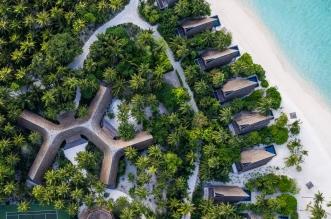 منتجع سانت ريجس المالديف فومولي يقدم تجربة مميزة للقفز على الترامبولين