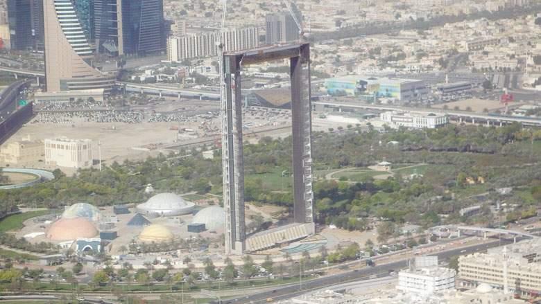 بالفيديو أين وصل العمل على مشروع إطار دبي ؟