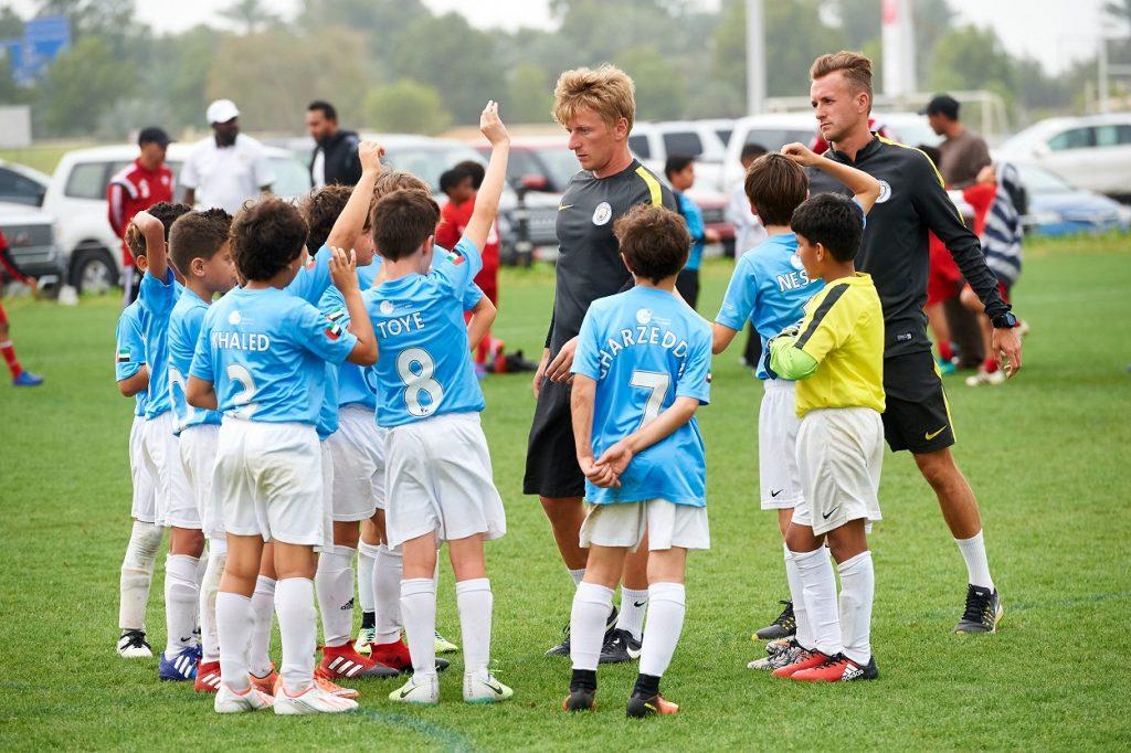 إنطلاق النسخة السابعة من مدارس السيتي لكرة القدم