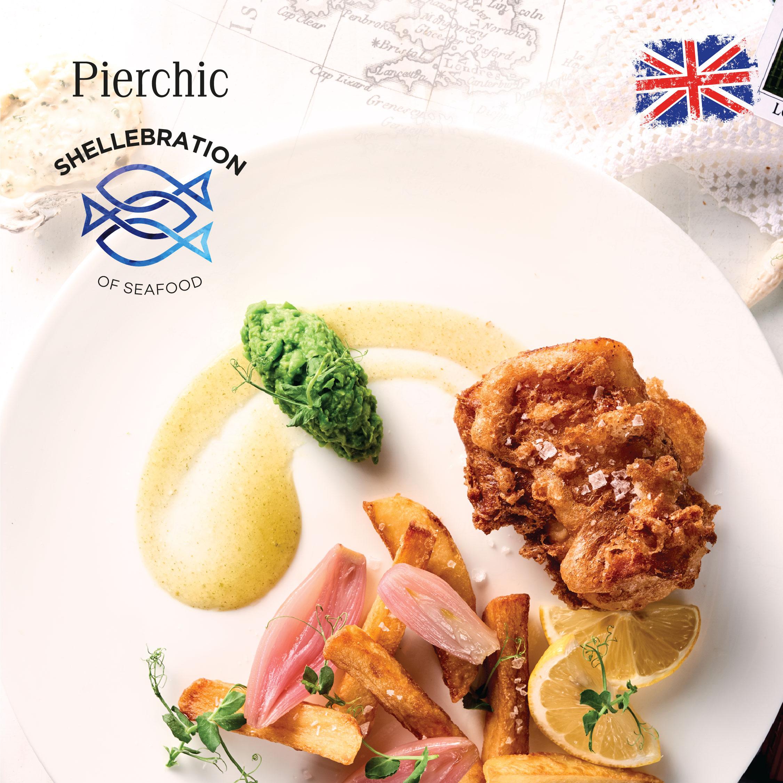 مطعم بيير شيك يحتفل بالمأكولات البريطانية