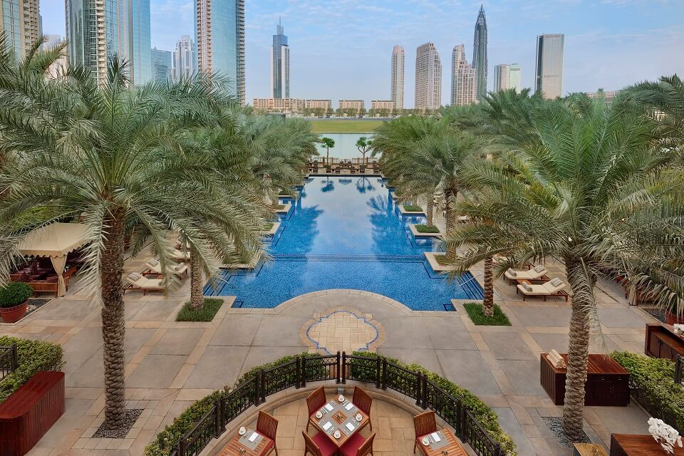 Palace Downtown – Outdoor Swimming Pool(1)