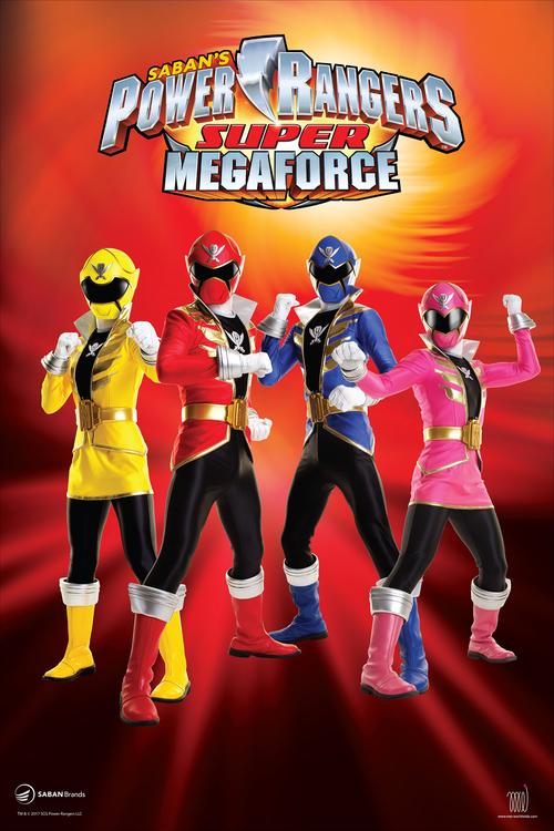 Power Ranger MG poster