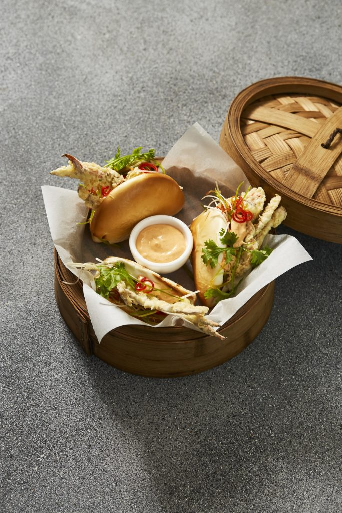 The Noodle House's new Soft Shell Crab Bao is available now
