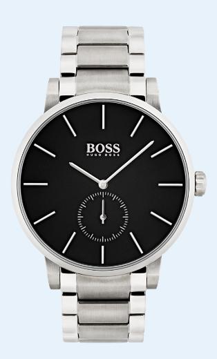 ساعات الصفوة تعلن عن تشكيلة ساعات Hugo Boss Essence