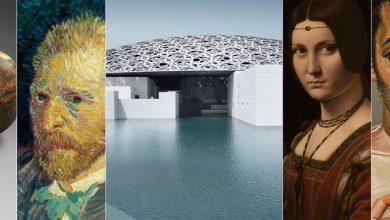 صورة أبرز اللوحات الفنية التي سيتم عرضها في لوفر أبوظبي