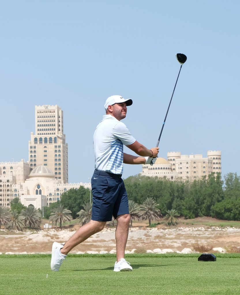 Back in RAK – Smith at Al Hamra Golf Club