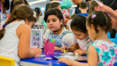 Photo of دلما مول يقدم عروضا رائعة في ركن فنون الأطفال