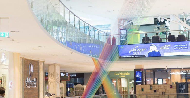 دبي مول يعرض تركيب فني جديد بعنوان الضفيرة Plexus