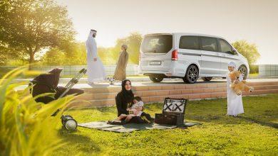مرسيدس-بنز الفئة-V تقدم للعائلات في الإمارات مساحة مخصصة لمقاعد الأطفال