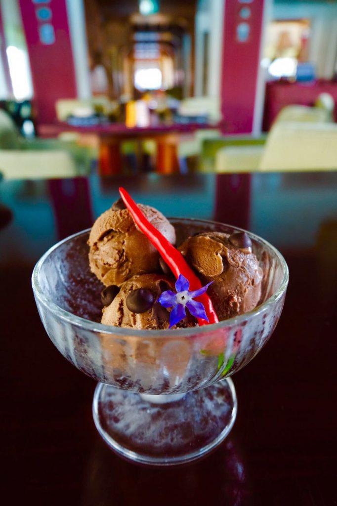 Palace Downtown – Thiptara – Chocolate chili ice-cream