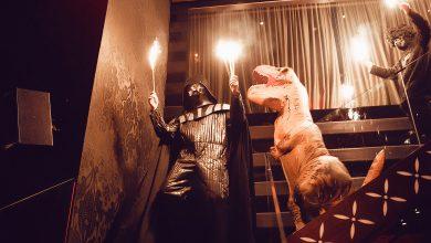 Photo of ساس كافيه يحتفل بالهالوين في حفل عشاء مانديز مايد مي