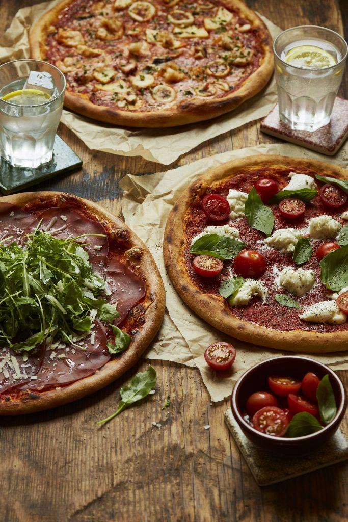 Trattoria new menu- Bresaola, Frutti di mari, Buffalina