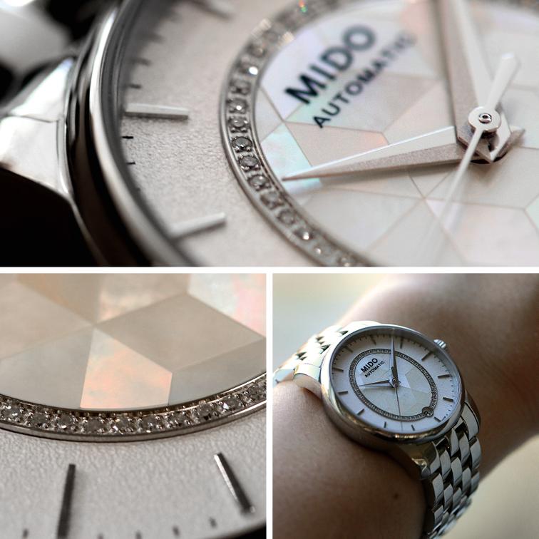 ساعة ميدو بارونسيلي بريزما تكشف عن نسخة متألقة من بريزما تعززها 51 ماسة