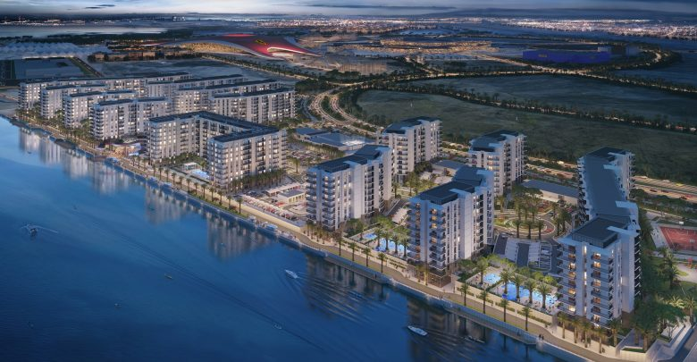 إطلاق مشروع وترز أج السكني بإطلالة على الواجهة المائية في جزيرة ياس