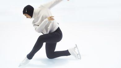 المتزلجة زهرة لاري تشارك في التصفيات المؤهلة للألعاب الأولمبية الشتوية