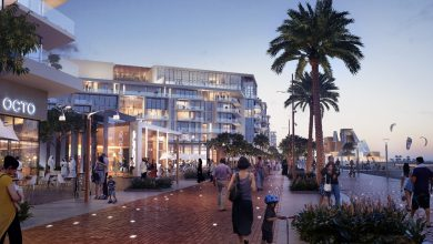 طرح وحدات سكنية للبيع في المجمع الأولآزور أبوظبي
