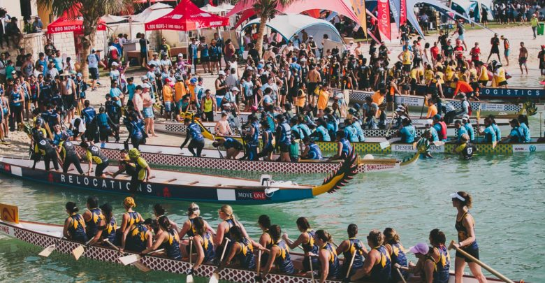 أبوظبي تستضيف مهرجان قوارب التنين للعام العاشر على التوالي