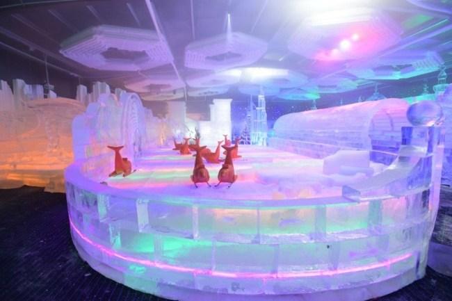 أول حديقة جليد تفتتح أبوابها في دبي