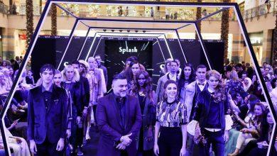 ميريام فارس في عرض أزياء سبلاش لخريف و شتاء 2017