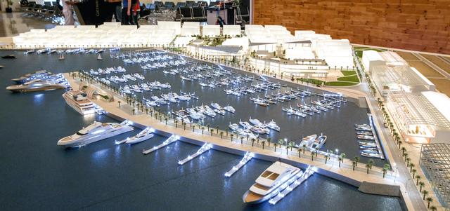 كل ما يجب عليك معرفته حول مشروع مارينا ميناء راشد