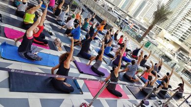 صورة دبي مارينا مول يقدم دروس اليوجا المجانية صباح كل جمعة
