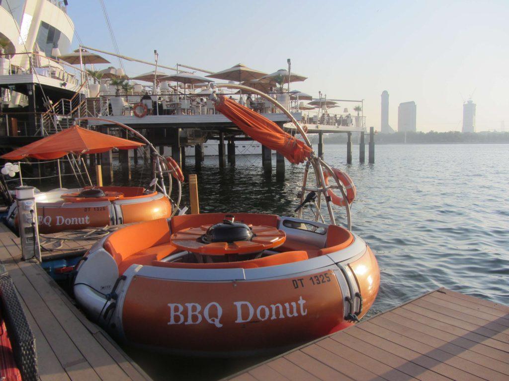 قارب الباربيكيو دونات