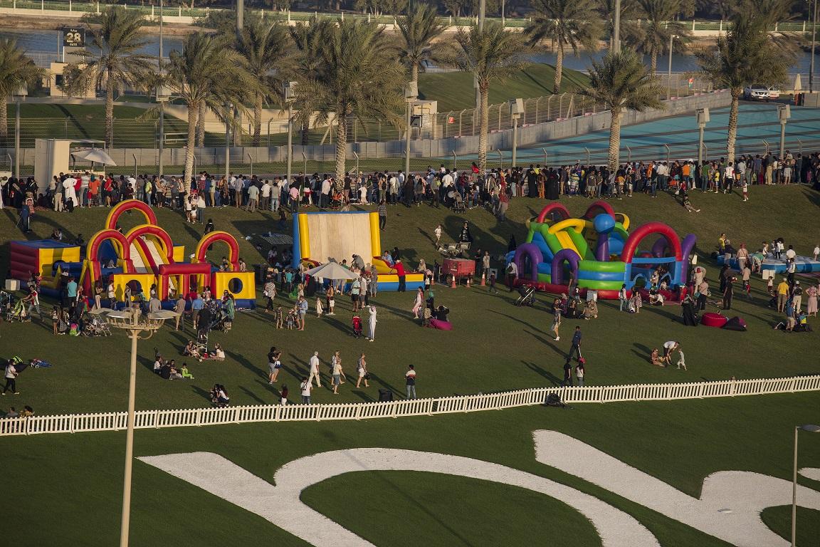 جزيرة ياس تنظم فعاليات حلّق بألوانك احتفاءً باليوم الوطني الـ46