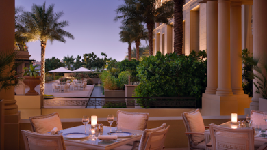 فندق بلازوڤيرساتشي دبي يقدم أجمل المطاعم في الهواء الطلق