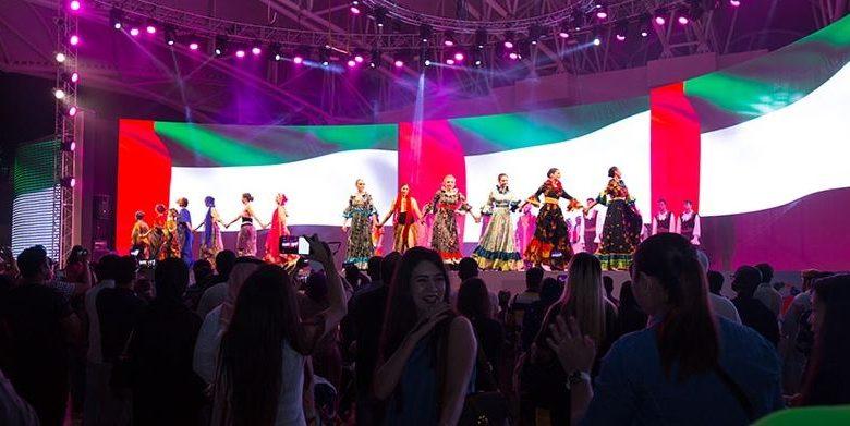 فيستفال سيتي مول تحتفي باليوم الوطني الإماراتي ال46