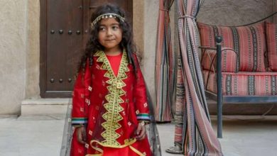 Photo of المصممة الإماراتية فريال البستكي تطلق تشكيلة ملابس اطفال خاصة باليوم الوطني 46
