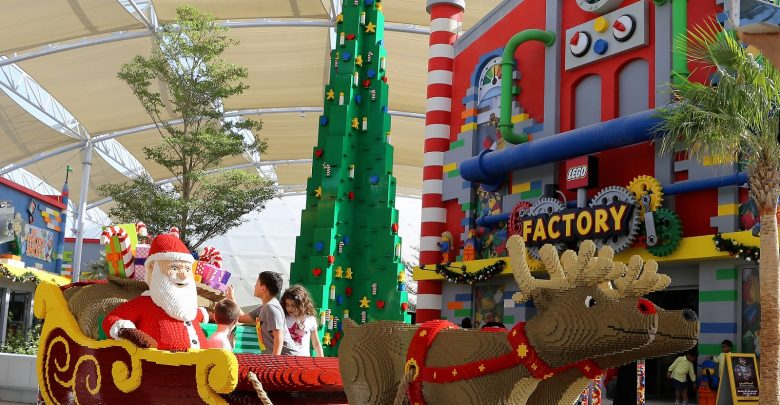 ليجولاند دبي يحتفل بموسم الأعياد على طريقته الخاصة