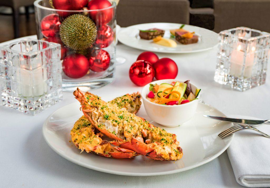 Gratinated Lobster Termidor