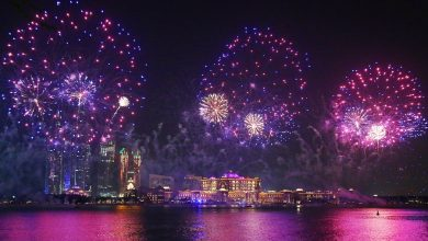 Photo of الألعاب النارية ستضيء سماء قصر الإمارات احتفالاً برأس السنة 2018