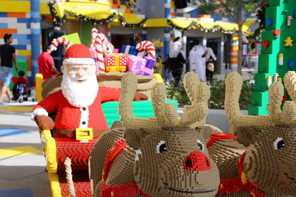 LEGOLAND® Dubai is getting into the holiday spirit with loads of family-friendly fun with its second annual Christmas Bricktacular